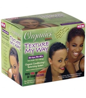 Africa's Best Organics Texture My Way No-Lye No-Mix Texturizing System Kit