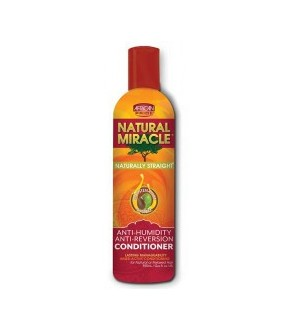 African pride natural miracle-anti humidity defense anti-reversion conditioner 12oz