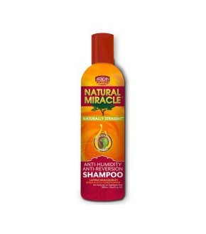 African pride natural miracle anti humidity defense anti-reversion shampoo 12oz.