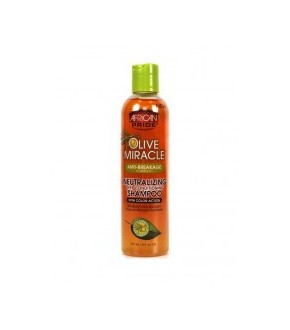 African Pride Olive Miracle Neutralizing Deep Conditioning Shampoo 8oz