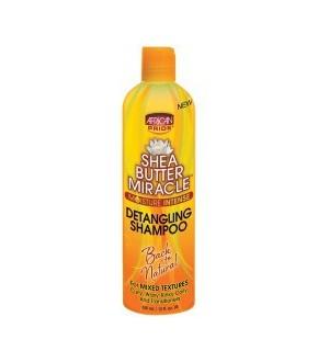 African pride shea butter detangling shampoo 12oz