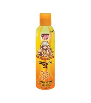 African pride Shea butter growth oil 6 oz.