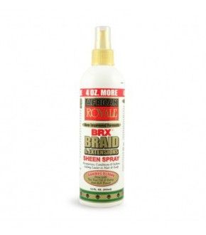 African royale brx braid sheen spray 12oz.