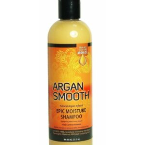 Argan Smooth Epic Moisture Shampoo – 12 oz