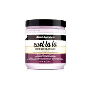 Aunt Jackie's Curls & Coils Curl La La Defining Curl Custard 15 oz