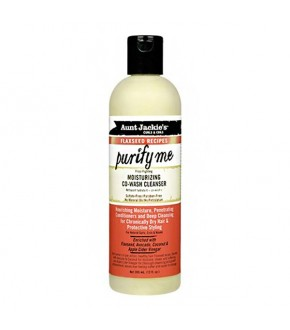 Aunt Jackie's Flaxseed Purify Me Co-wash 12 oz