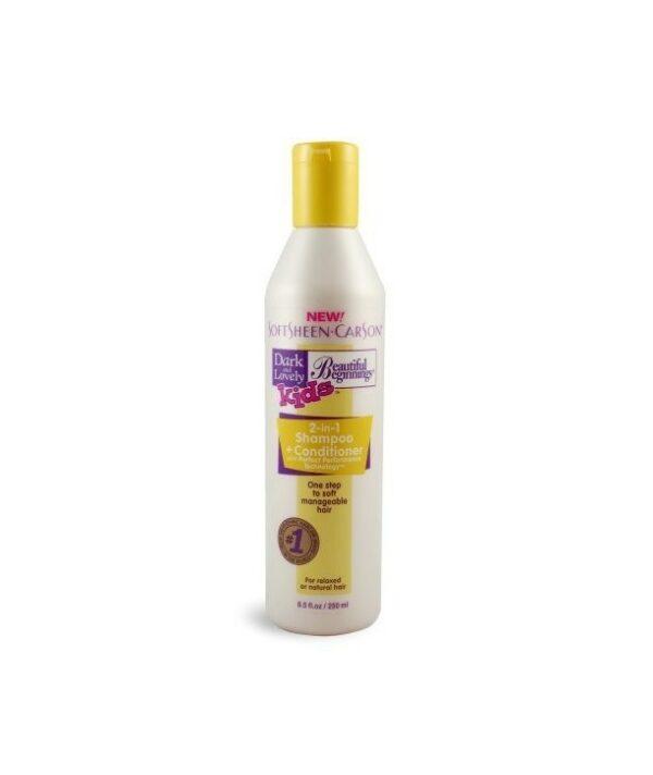 Beautiful Beginnings KIDS 2in1 Shampoo plus Conditioner – 8.5oz bottle