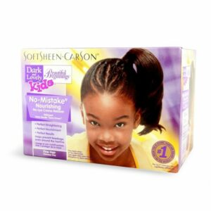 Beautiful Beginnings No-Mistake No-Lye CHILDRENs Relaxer kit Fine Hair