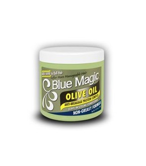 Blue Magic OLIVE OIL Leave In Styling Conditioner – 13.75oz jar