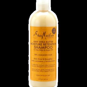 Shea Moisture Raw Moisture Retention Shampoo-FAMILY SIZE 16 FL OZ / 437 ML