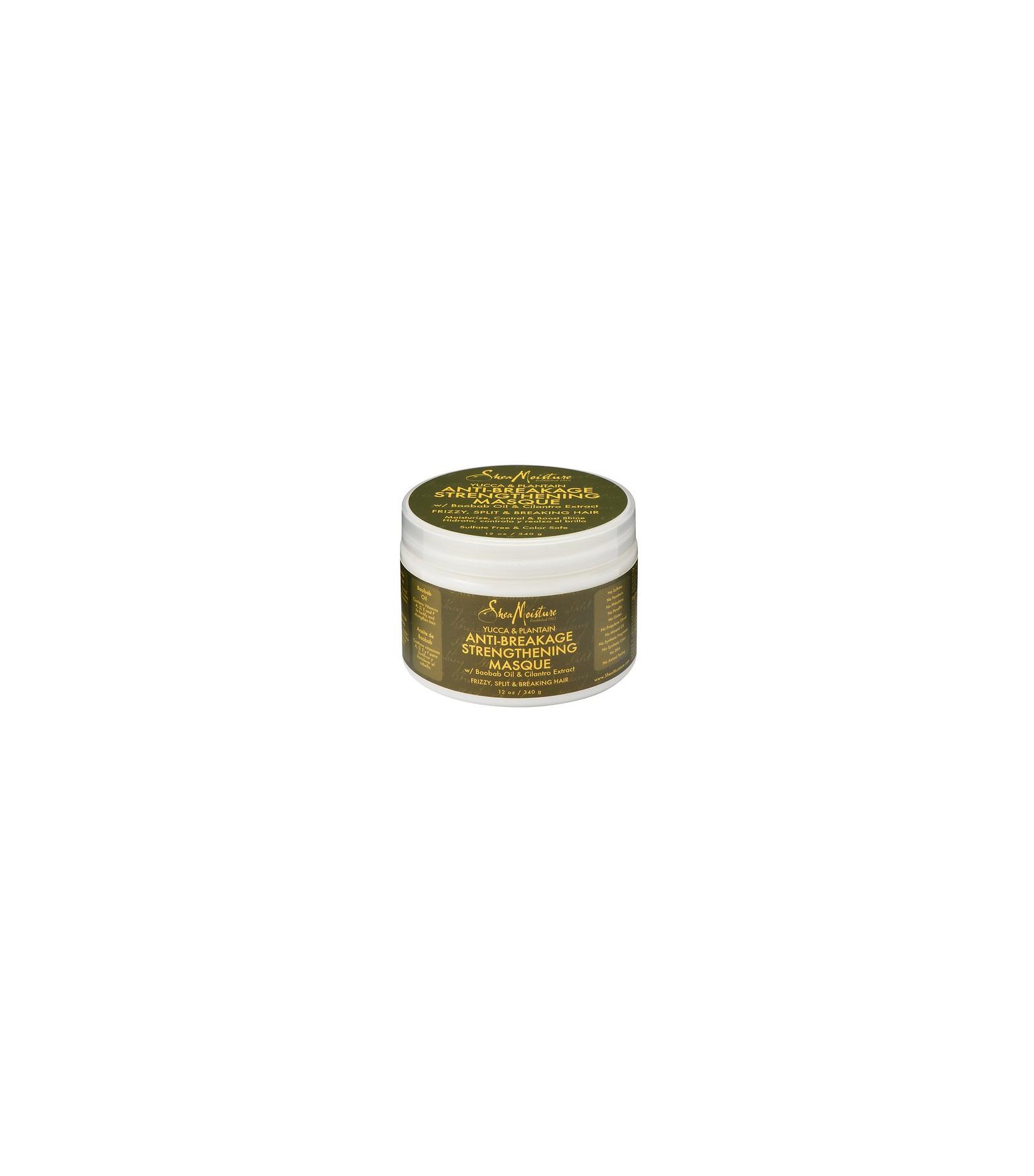 Shea Moisture Yucca & Plantain Anti-Breakage Strenthening Masque 340 g