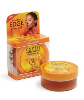Cantu Natural Edge Styling Gel 2.25 oz / 64g