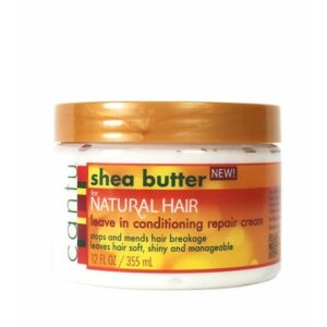 Cantu Shea Butter for Natural Hair Leave In Conditioning Repair Cream 12oz