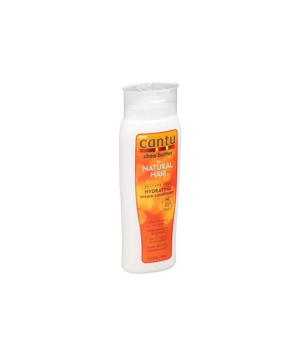 Cantu for Natural Hair Sulfate Free Hydrating Cream Conditioner 400 ml