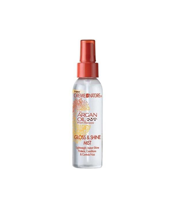 Creme of Nature Gloss & Shine Mist Styling Product, 4 oz