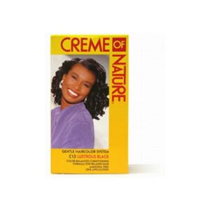 Creme of Nature Hair Color (yellow) Lustrous Black C10