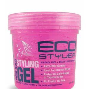 EcoStyler Styling Gel Curl & Wave Pink 16 oz