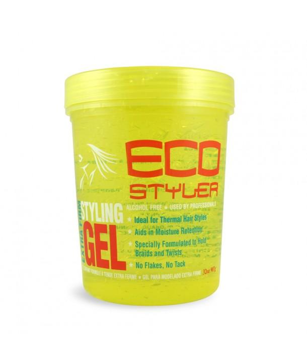 Ecostyler Styling Gel Yellow 32 oz