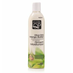 ELASTAQP OLIVE OIL & MANGO BUTTER GROWTH MOISTURIZER 12oz