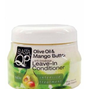 ELASTAQP OLIVE OIL & MANGO BUTTER LEAVE-IN CONDITIONER 15oz