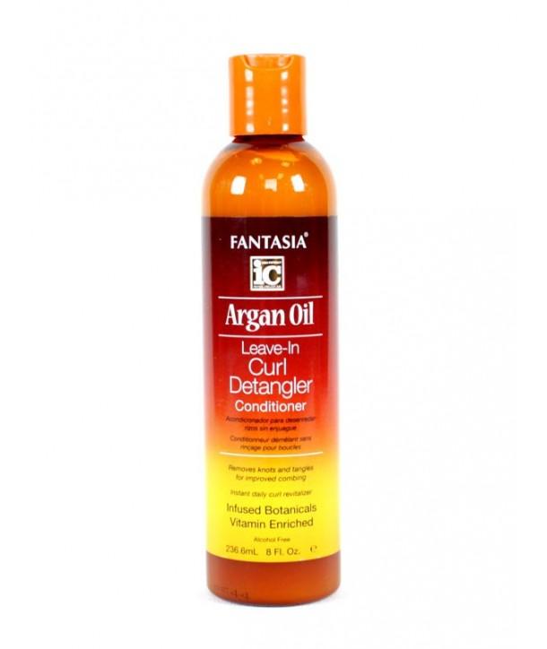 Fantasia IC Argan Oil Leave-In Curl Detangler Conditioner 8oz