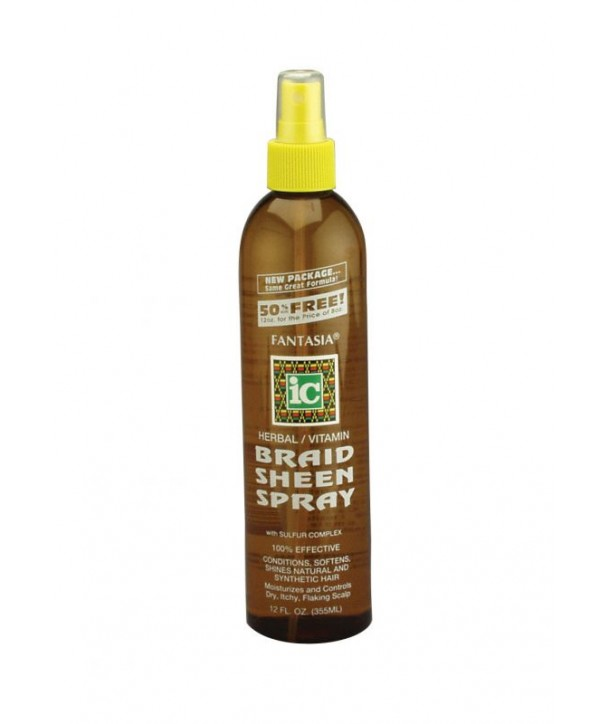 Fantasia IC Braid Sheen Spray 12 oz