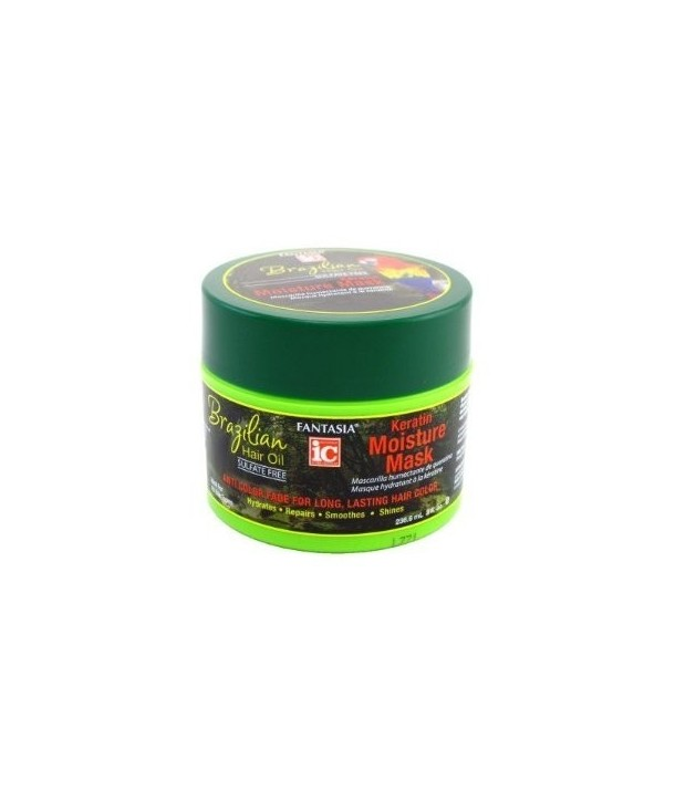 Fantasia IC Brazilian Hair Oil Keratin Moisture Mask 8oz