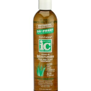 Fantasia IC Leave In Dry Hair & Scalp Treatment Extra Dry 12oz