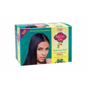 Hawaiian Silky Argan Oil Hydrating Sleek No Lye Relaxer Super