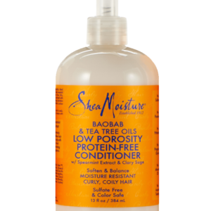 Shea Moisture Baobab & Tea Tree Oils Low Porosity Protein-Free Conditioner 13oz