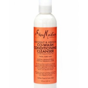 Shea Moisture Coconut & Hibiscus Co-Wash Conditioning Cleanser 8 oz/ 237 ml