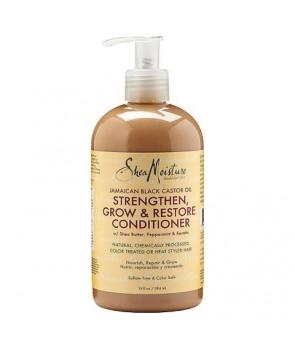 Shea Moisture Jamaican Black Castor Oil Grow & Restore Rinse Out Conditioner 13oz