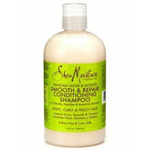 SHEA MOISTURE TAHITIAN NONI & MONOI SMOOTH & REPAIR CONDITIONING SHAMPOO 384ML