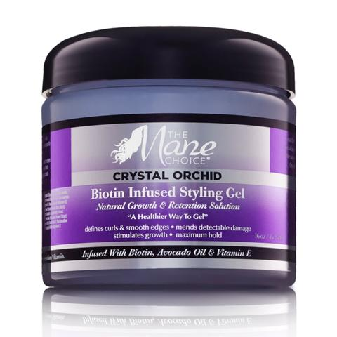 Mane Choice Crystal Orchid Biotin Infused Styling Gel 16 oz