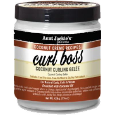 Aunt Jackie's Coconut Creme Recipes Curl Boss Coconut Curling Gélee 443ml