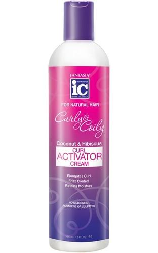 Fantasia IC CURLY & COILY  Curl Activator Cream 12 oz