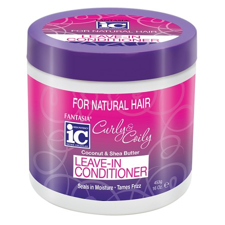 Fantasia IC CURLY & COILY Leave-In Conditioner 16 oz