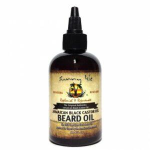 Sunny Isle Jamaican Black Castor Beard Oil 40z