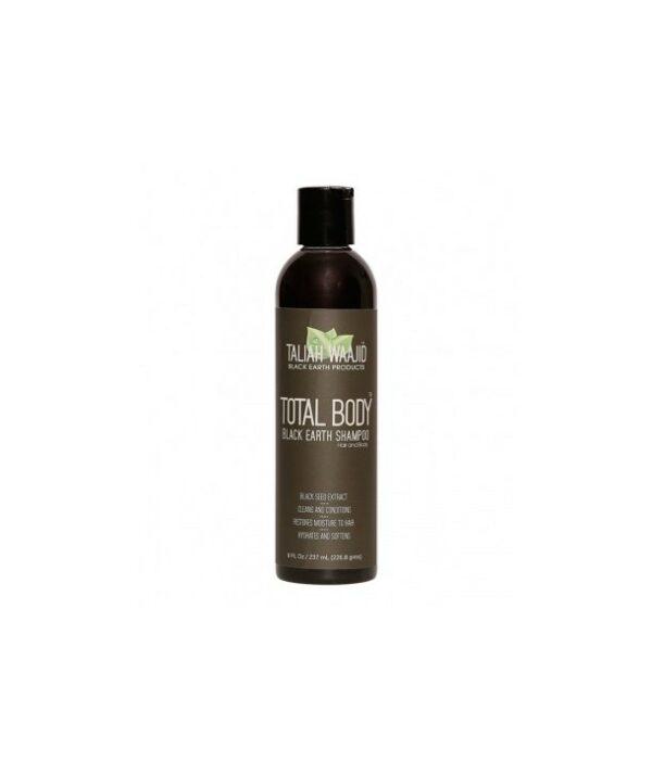 Taliah Waajid Total Body Black Earth Shampoo 8oz