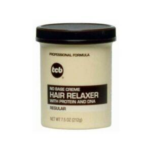 TCB – No Base Creme Hair Relaxer (Regular) 7.5oz