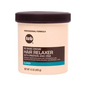TCB – No Base Creme Hair Relaxer (Super) 15oz