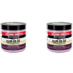 Aunt Jackie's Curls & Coils Curl La La Defining Curl Custard 15 oz x 2