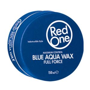 RedOne Hair Blue Aqua Hair Wax Full Force 150ml (Blue)