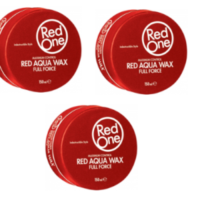 4 x RedOne Hair Aqua Hair Wax Full Force 150ml (Any color)