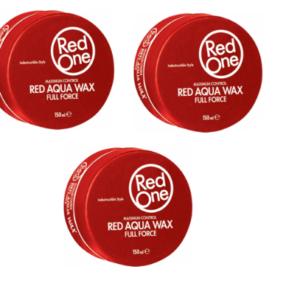 4 x RedOne Hair Aqua Hair Wax Full Force 150ml (Any color)