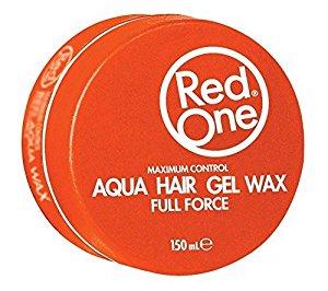 RedOne Hair Orange Aqua Hair Wax Full Force 150ml (Orange)