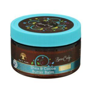 As I Am Naturally Born Curly Shea Cocoa Butter Balm 4oz