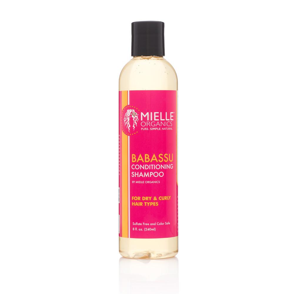 Mielle Organics Babassu Oil Conditioning Sulfate-Free Shampoo 8 Oz x 2