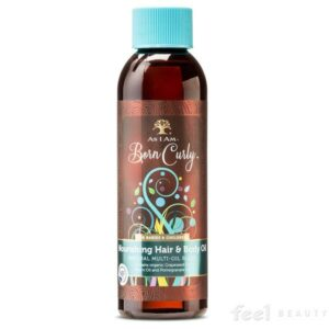 As I Am Naturally Born Curly Nourishing Hair & Body Oil