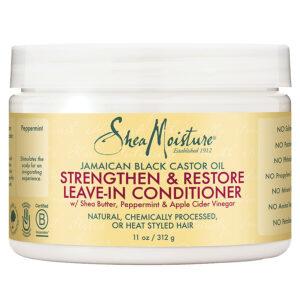 Shea Moisture Jamaican Black Castor Oil Leave in Conditioner 11oz